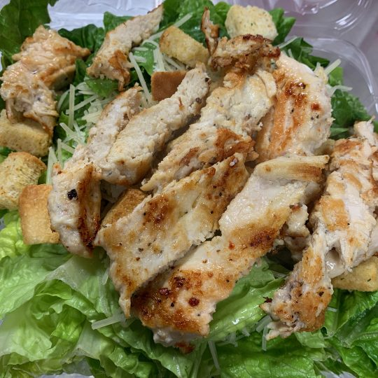 Squinnys - Chicken Caesar Salad with Marinated Grilled Chicken